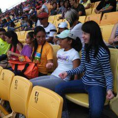 Tarde de fútbol con el Deportivo La Guaira