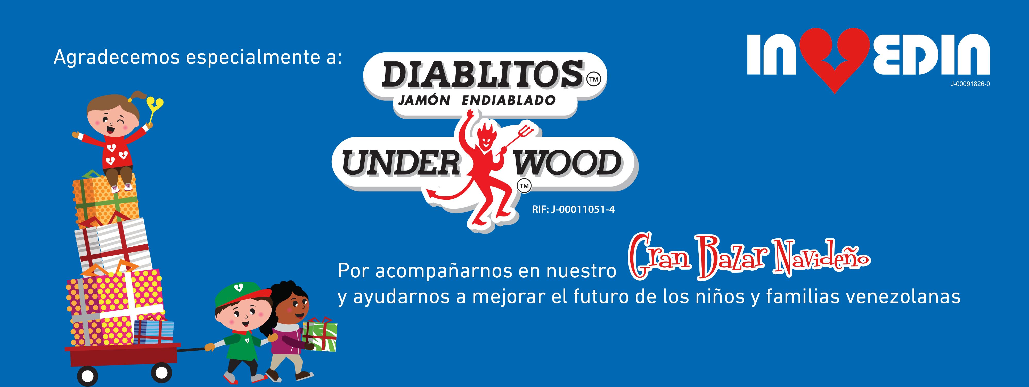 Invedin y Diablitos™ Underwood™ se unen por una buena causa