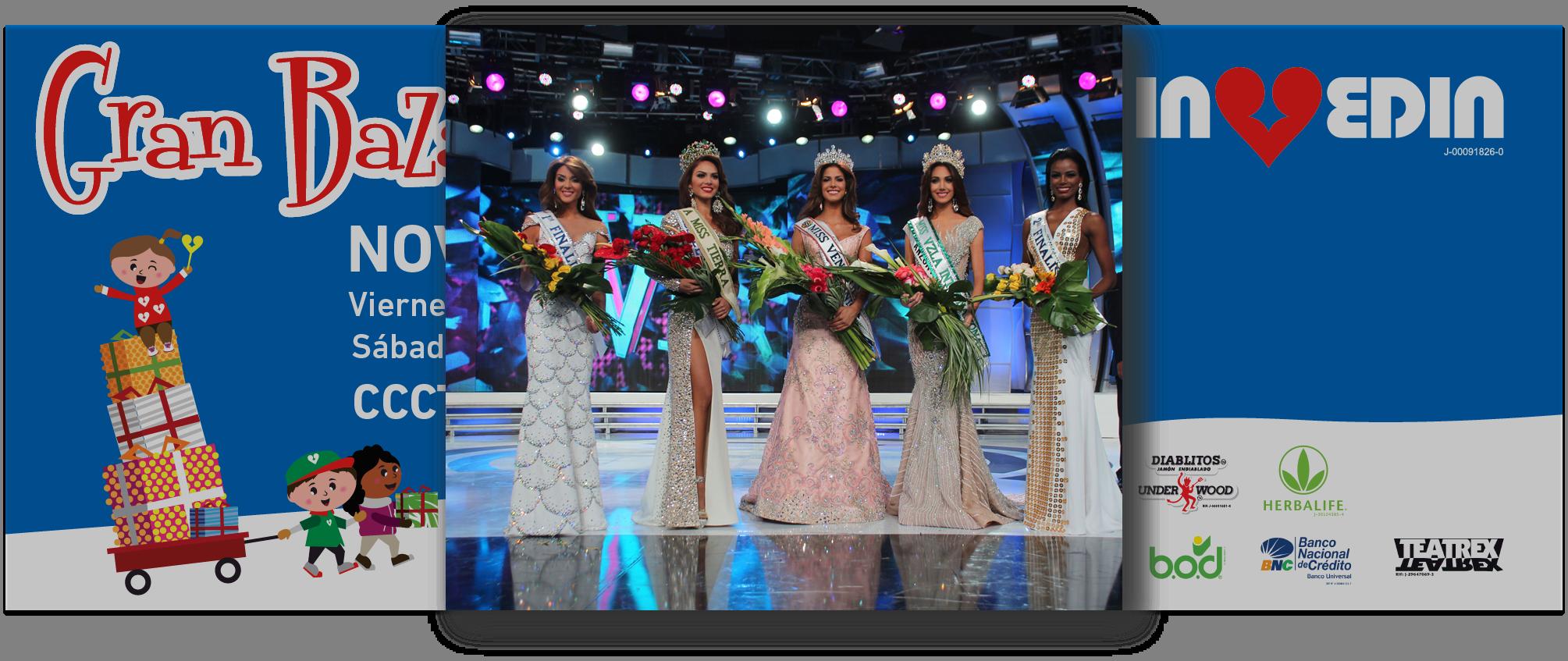 Las reinas de Venezuela presentes en el Gran Bazar Navideño Invedin 2014