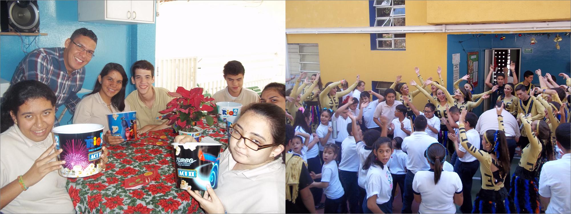 El Centro de Educación Especial Invedin recibe la Navidad
