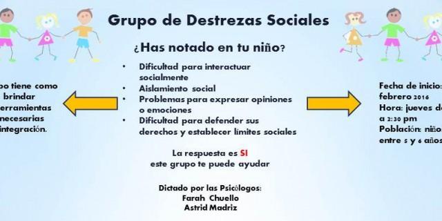 Grupo de Destrezas Sociales