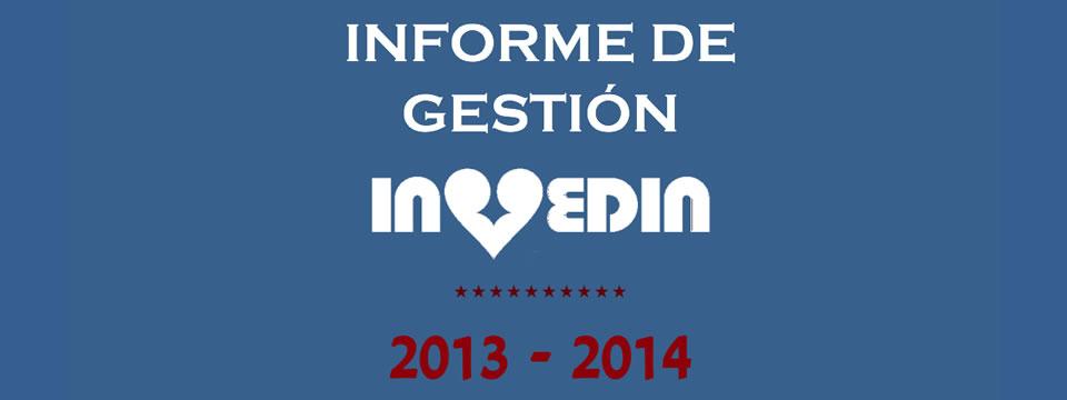 Informe de Gestión 2013 – 2014