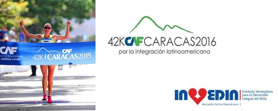 Invedin será beneficiario del Maratón CAF