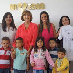 Gol de solidaridad anotaron Invedin y Real Madrid