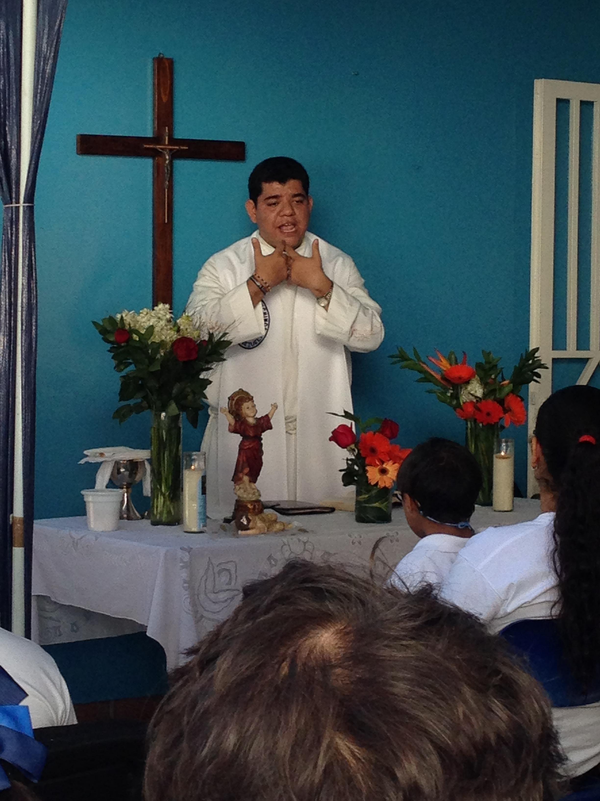 El CEE celebró el Día de la Virgen