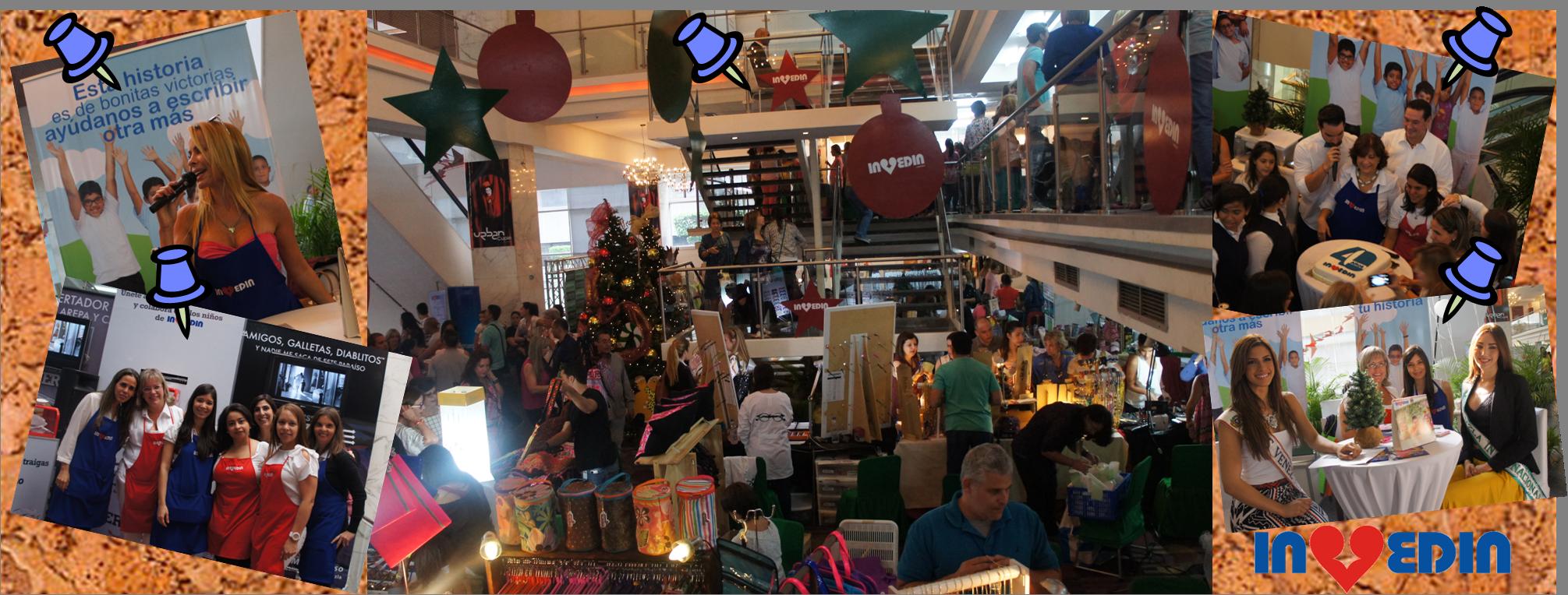 Gran Bazar Navideño Invedin 2014