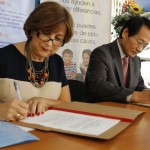 El gobierno del Japón e Invedin firman convenio de donación