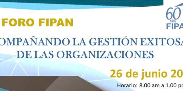 III foro FIPAN. Acompañado la gestión exitosa de las organizaciones
