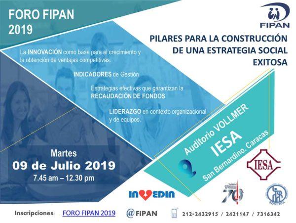 Foro FIPAN 2019 en el IESA